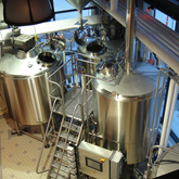 1000L 2 O 3 Vessel Brewhouse commerciale utilizzato Beer Production Equipment